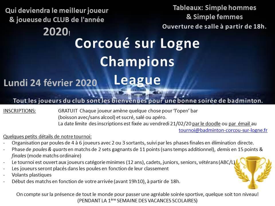Affiche abc l championsleague 2020