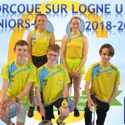 L'équipe Juniors-2 (U17) 2018-2019