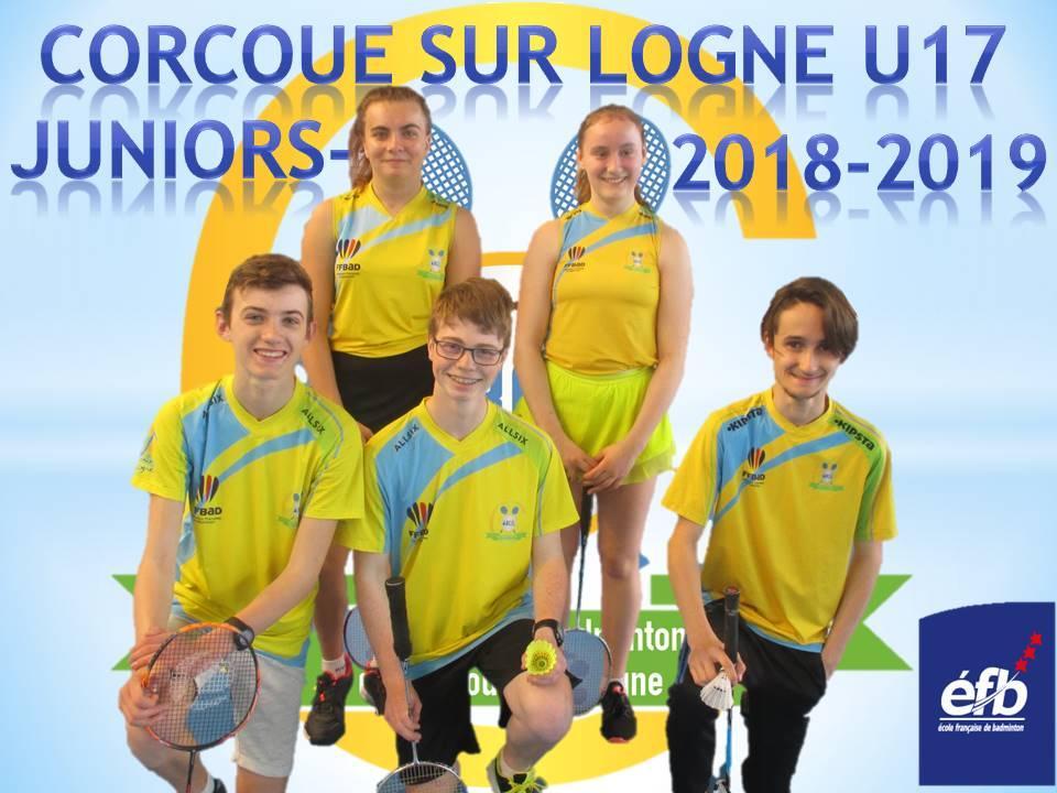 Corcoue sur logne juniors 2 2018 2019