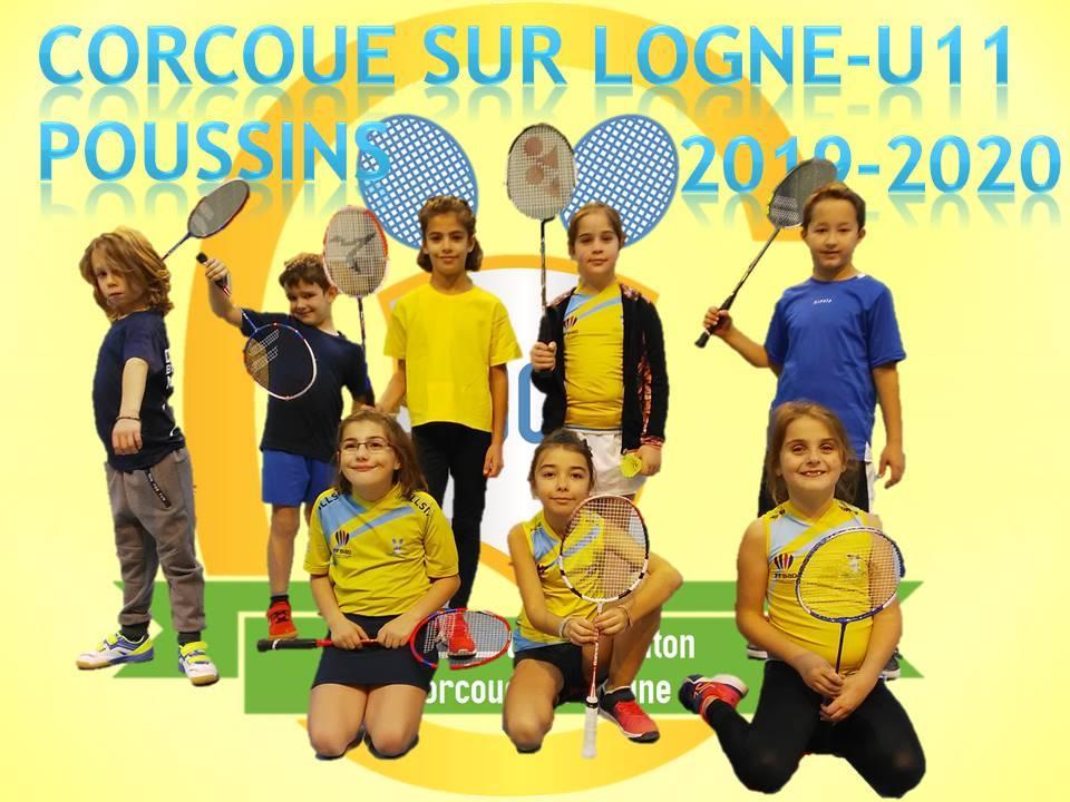 L'équipe Poussins (U11) 2019-2020