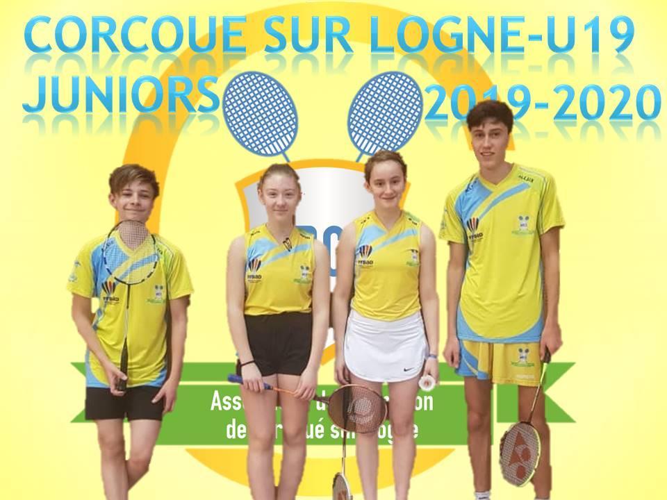 Corcoue sur logne u19 juniors 2019 2020