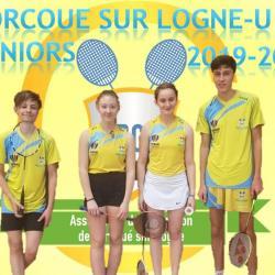 L'équipe Juniors (U19) 2019-2020