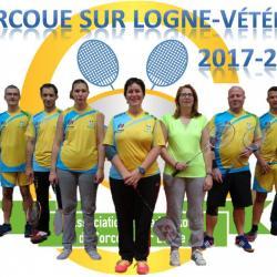 L'équipe de vétéran 2017-2018