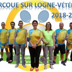 L'équipe de vétéran 2018-2019