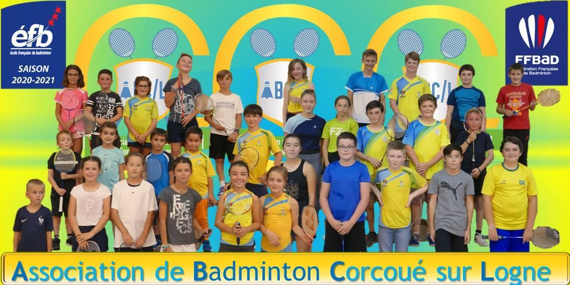 Ecole de badminton 2020 2021