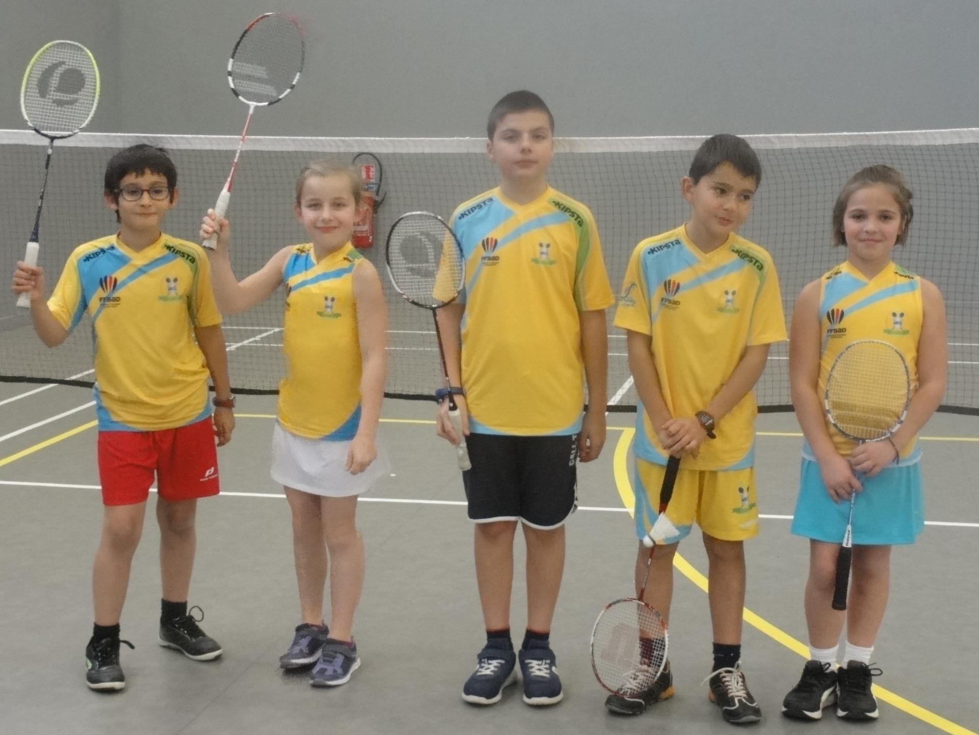 L'équipe Benjamins (U11)