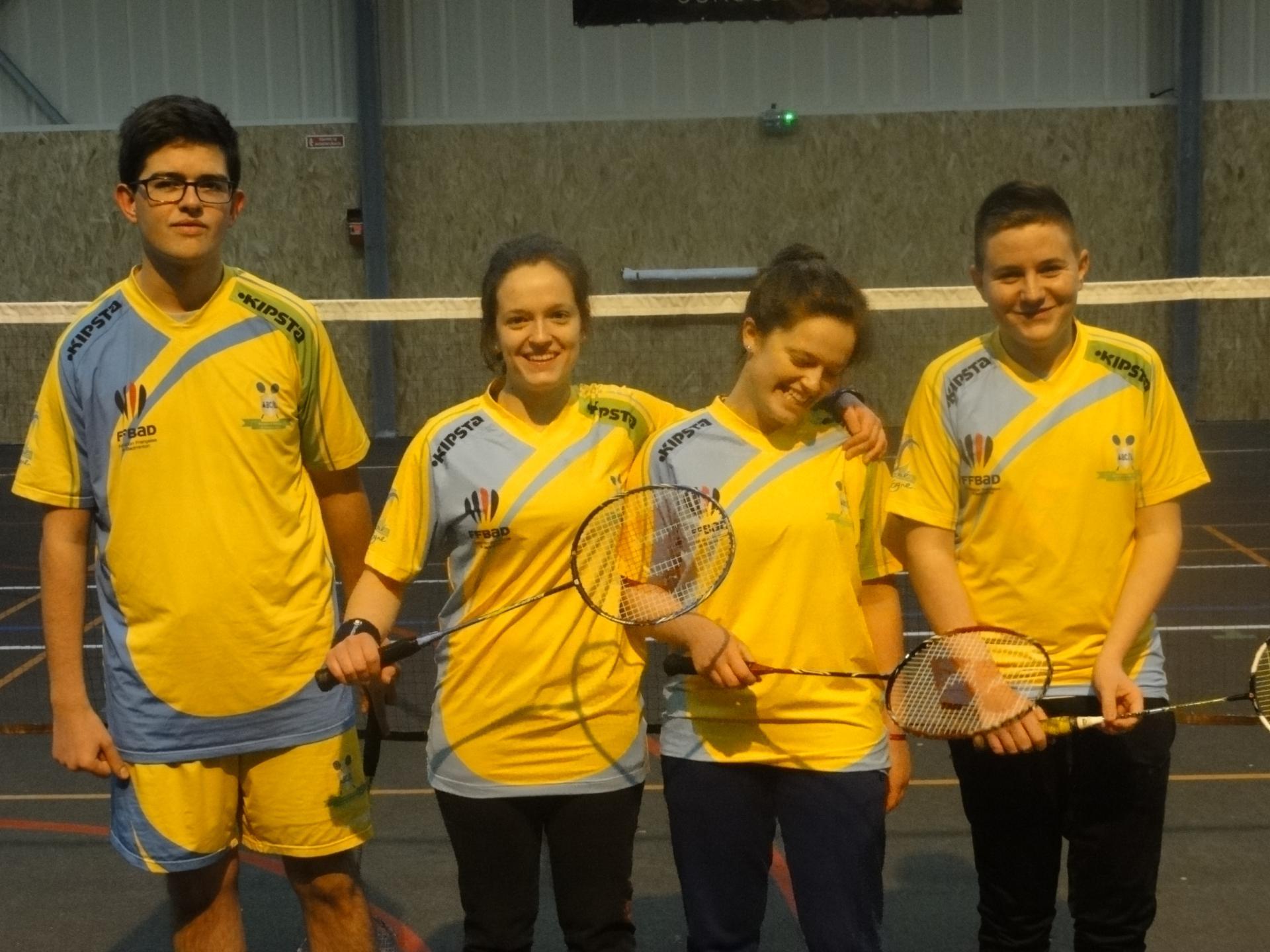 L'équipe Juniors (U17)