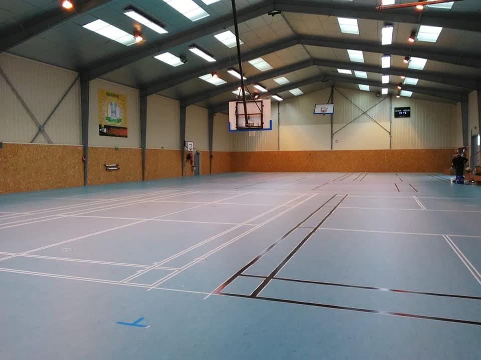 Nouveau sol salle de sport 1