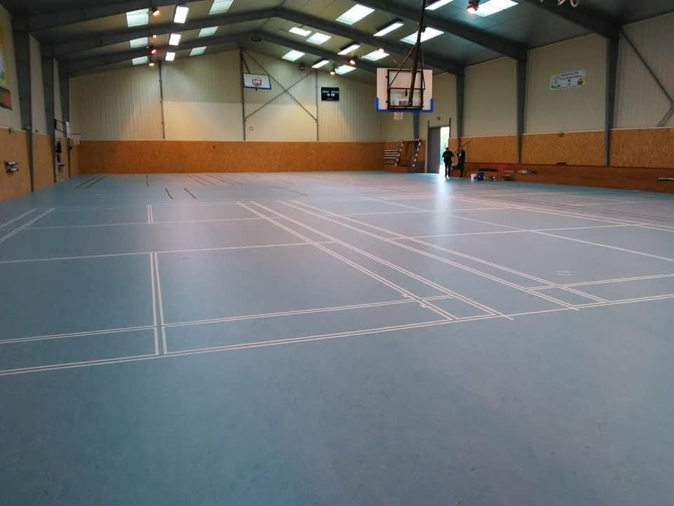 Nouveau sol salle de sport 2