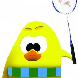 Notre mascotte 'Brad' du club.
